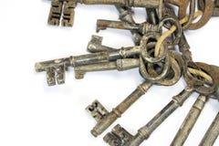 Weinlese-antike Schlüssel Lizenzfreie Stockfotografie