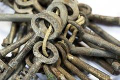 Weinlese-antike Schlüssel Lizenzfreies Stockbild