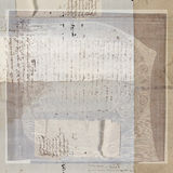 Weinlese-antiker Text-Papier-Hintergrund lizenzfreie stockbilder
