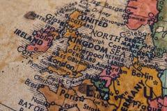 Weinlese-Art-Foto des Vereinigten Königreichs Stockbilder