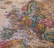 Weinlese-Art-Foto von Europa Lizenzfreie Stockfotos