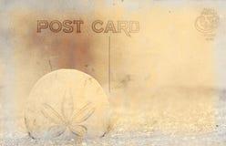 Weinlese-Art-Postkarte Lizenzfreie Stockbilder