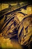 Weinlese-Artischocke Stockbild