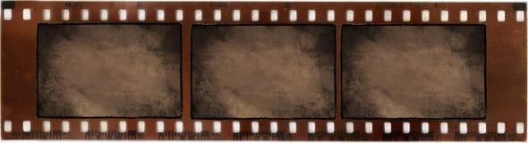 Weinlese auf fotographischem Film Stockbild