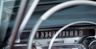 Weinlese-Auto Stockfotos