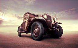 Weinlese-Auto stockbilder
