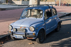 500 Weinlese-Auto Colonia-del Sacramento Uruguay Lizenzfreie Stockbilder