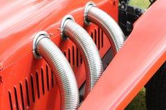 Weinlese-Auto-Motor Stockbild