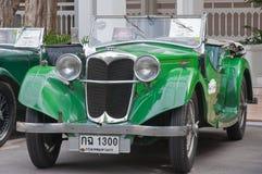 Weinlese-Auto-Parade 2011 Hua-Hin Lizenzfreie Stockbilder