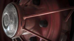Weinlese-Auto-Rad Lizenzfreie Stockfotos