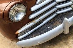 Weinlese-Autodetails lizenzfreie stockbilder