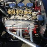 Weinlese-Automotor Stockbild