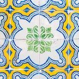 Weinlese Azulejo von Portugal Lizenzfreie Stockfotos