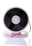 Weinlese-Bandspule des Magnetbands für Tonaufzeichnungen Lizenzfreies Stockfoto