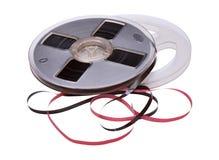 Weinlese-Bandspule des Magnetbands für Tonaufzeichnungen Stockbilder