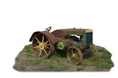 Weinlese-Bauernhof-Traktor Lizenzfreies Stockbild