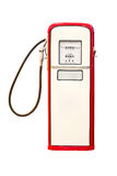 Weinlese-Benzin-Pumpe. Lizenzfreies Stockbild