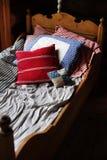 Weinlese-Bett Lizenzfreies Stockbild