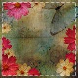 Weinlese-Blumenmusterhintergrund Lizenzfreie Stockbilder