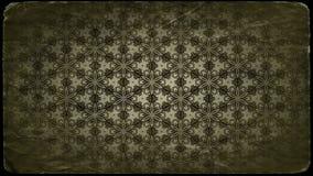 Weinlese-Blumenverzierungs-Muster-Hintergrund-Entwurfs-Schablone stock abbildung