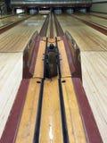 Weinlese-Bowlingbahn Lizenzfreies Stockbild