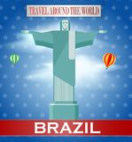 Weinlese-Brasilien-Reise Stockfoto