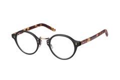 Weinlese-Brillen getrennt mit Ausschnittspfad Lizenzfreie Stockfotografie