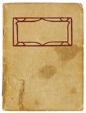 Weinlese-Broschüre Lizenzfreie Stockbilder