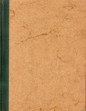 Weinlese-Bucheinband-Leerzeichen Stockfoto