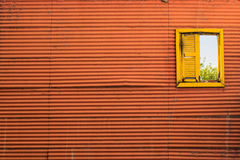 Weinlese-buntes Fenster Lizenzfreies Stockbild