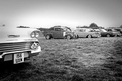 Weinlese-Car Show Stockbild