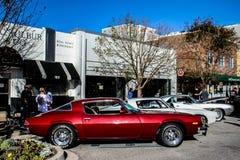 Weinlese-Car Show Stockfoto