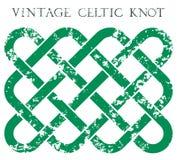 Weinlese Celticknoten Stockbilder