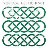 Weinlese Celticknoten Stockfoto