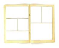Weinlese-Comic-Buch-Hintergrund-Schablone Lizenzfreies Stockfoto