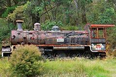 Weinlese-Dampf-Maschine Lizenzfreies Stockbild