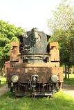 Weinlese-Dampf-Maschine Stockbilder