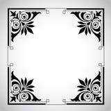 Weinlese-dekorative Feld-Serie Stockbilder