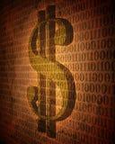Weinlese-Digital-Geld Stockbilder