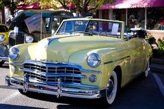 Weinlese-Dodge-Kabriolett Stockbild