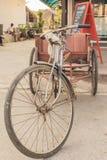 Weinlese-Dreirad Stockfoto