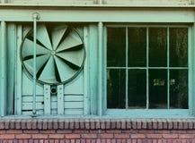Weinlese-Effekt-Lager-Fan Stockfotografie