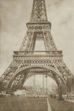 Weinlese-Eiffelturm Paris Lizenzfreies Stockfoto