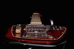 Weinlese-elektrische Gitarre stockbild
