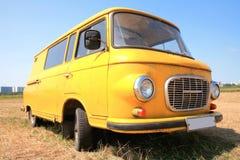 Weinlese-europäisches Auto 60-70h Stockfotos