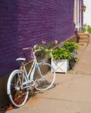 Weinlese-Fahrrad Lizenzfreies Stockbild