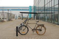 Weinlese-Fahrrad Stockfoto