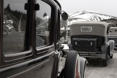 Weinlese-Fahrzeuge Lizenzfreies Stockfoto