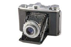 Weinlese-Falte-Kamera stockfotografie