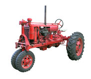 Weinlese Farmall Traktor Lizenzfreies Stockfoto